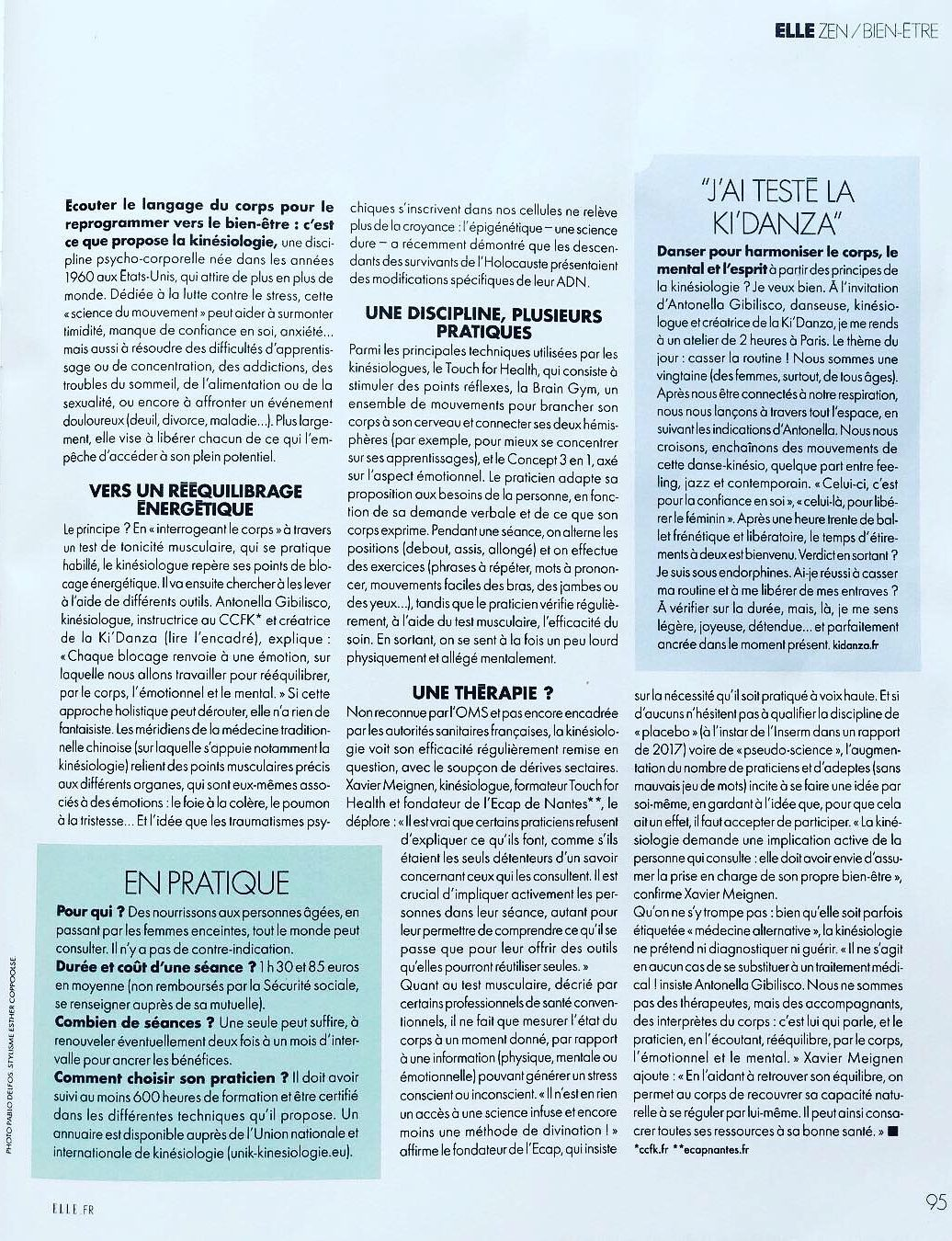 "Article ""Elle - Zen"""